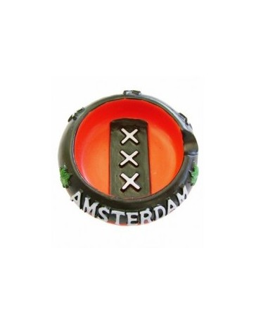 ASHTRAY Red AMSTERDAM XXX