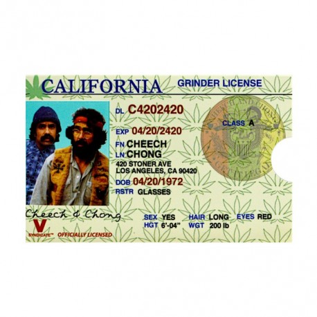 GRINDER CARD CHEECH & CHONG