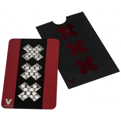 GRINDER CARD RED BLACK XXX