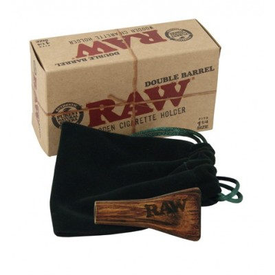 RAW WOODEN DOUBLE SIG HOLDER 1 1/4