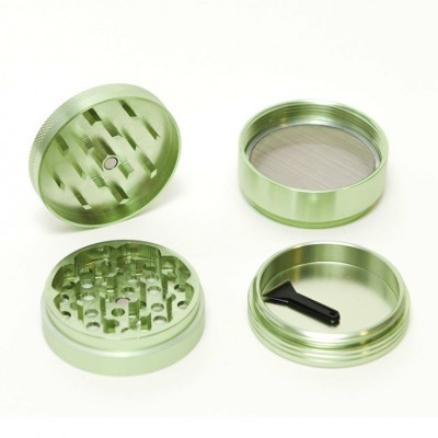 GRINDER ALU GREEN 4 PRTS 55MM