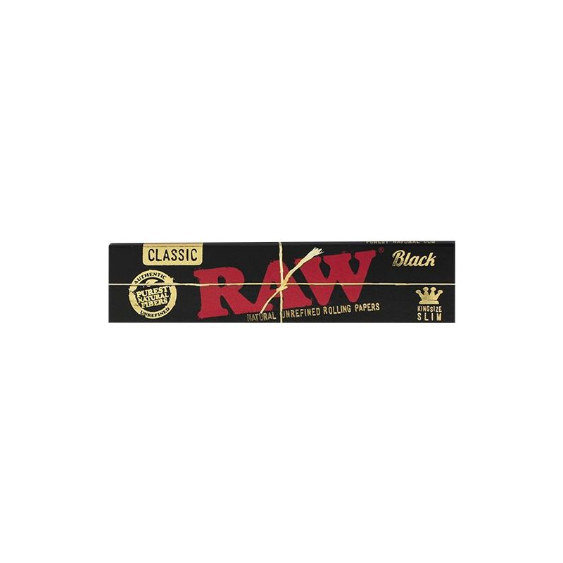 RAW BLACK CLASSIC KS SLIM PAPERS