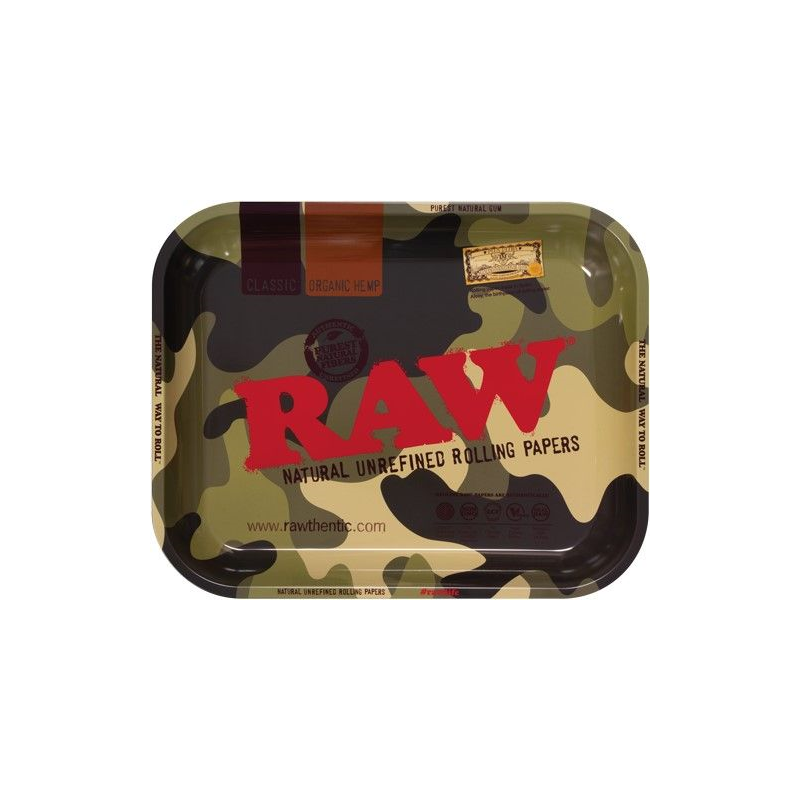RAW ROLLING TRAY CAMOUFLAGE 27,5 X 34,5