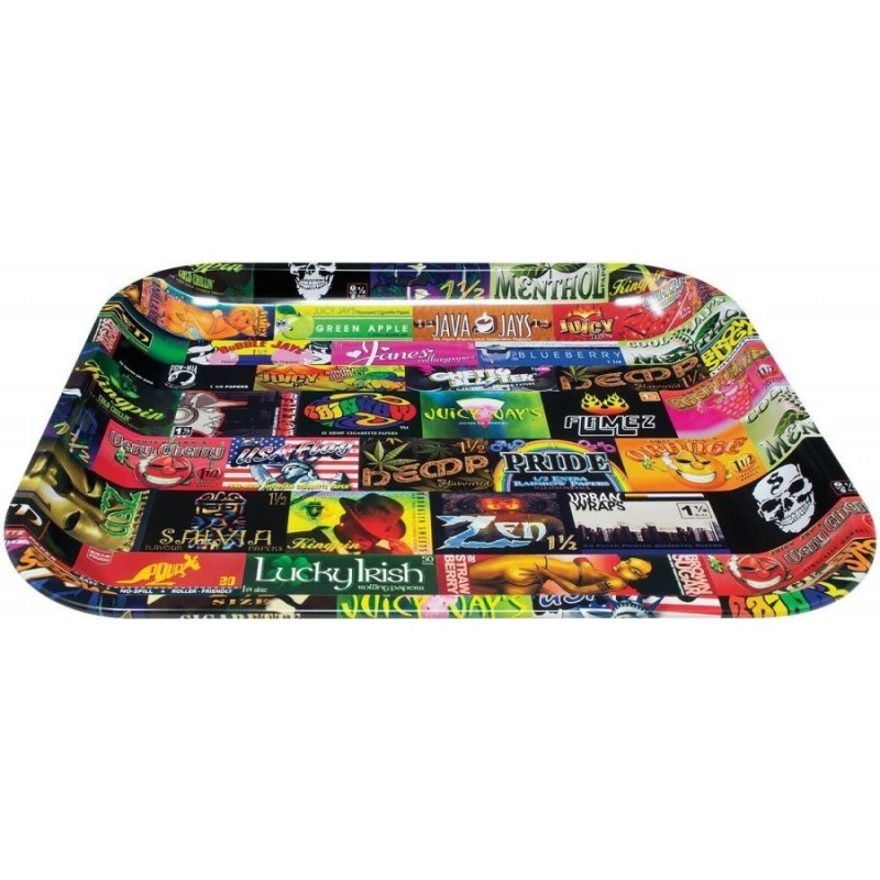 RAW ROLLING TRAY L- RS History 101 (27,5 x 34,5 cm)