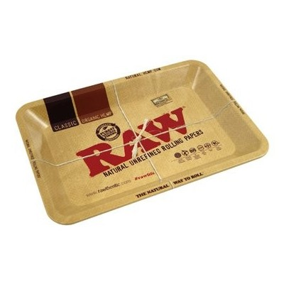 RAW METAL ROLLING TRAY MINI 12.5X18 CM