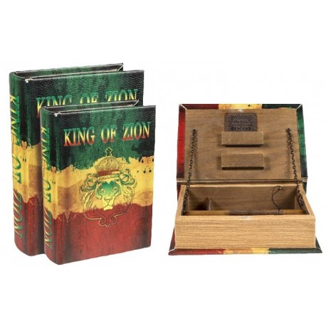 ROLLING TRAY BOOK SMALL KING OF ZION