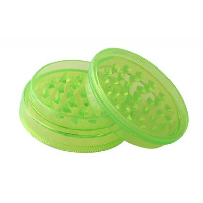 Grinder Plastic 2 parts 60mm Green