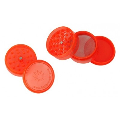 Grinder Plastic 5 parts 60mm Red