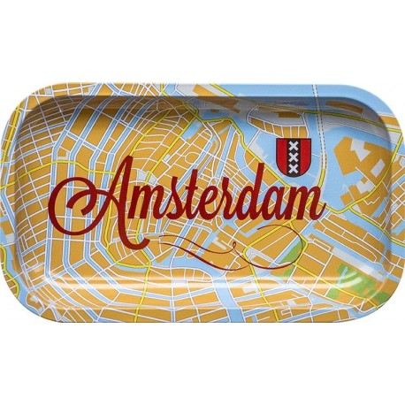 ROLLING TRAY CITY MAP