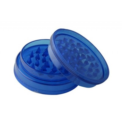 Grinder Plastic 2 parts 60mm Dark Blue
