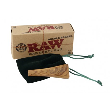 RAW K.S.WOODEN DOUBLE SIG HOLDER KING SIZE