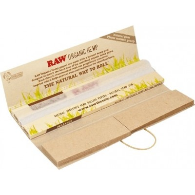 RAW VLOE+TIPS CONNOISSEUR HEMP PAPER
