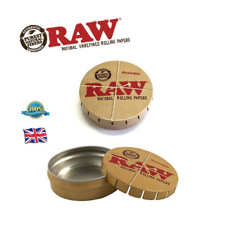 RAW CLICK TIN BOX
