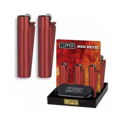 CLIPPER METAL RED