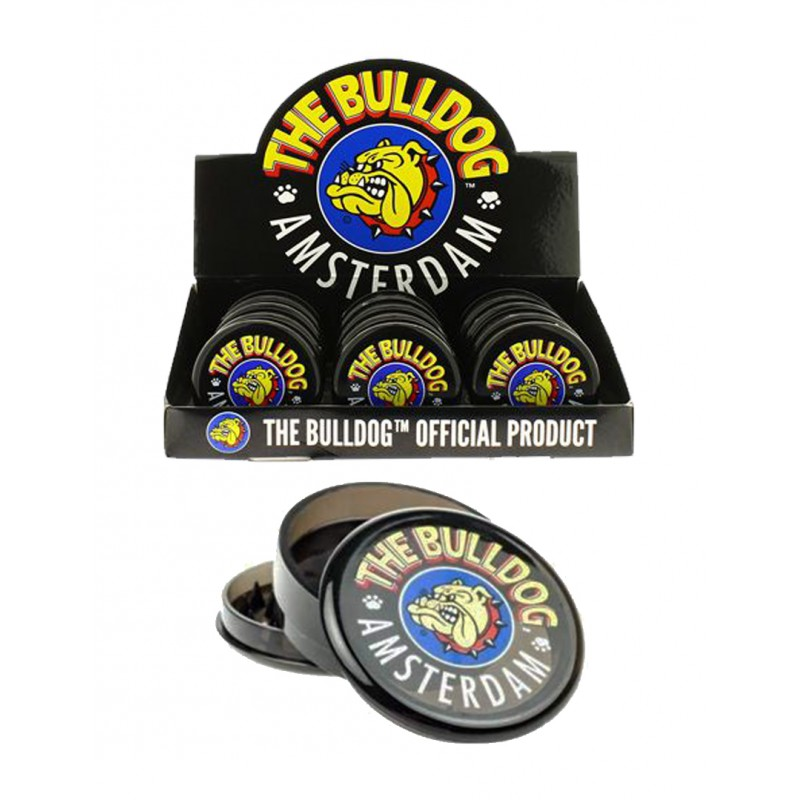 BULLDOG GRINDER BLACK 3 PARTS