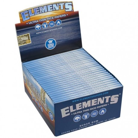 ELEMENTS PAPERS KING SIZE ULTRA THIN RICE PAPERS
