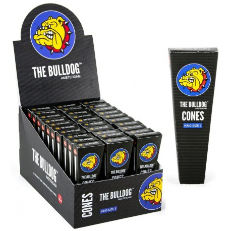 BULLDOG CONES KING SIZE 3 PACK