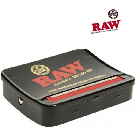 RAW ROLL BOX 79MM BLACK