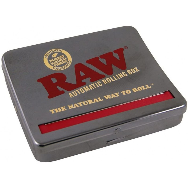 RAW ROLL BOX 110MM CHROME