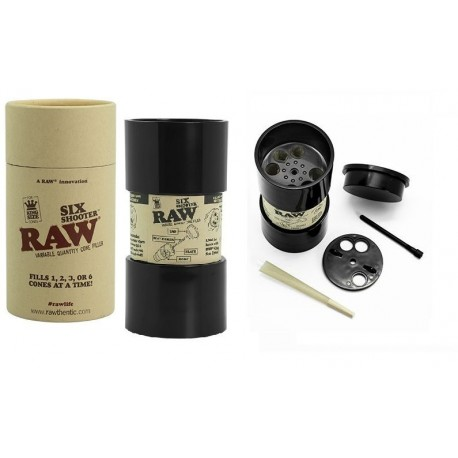 RAW SIX SHOOTER CONE FILLER KING SIZE