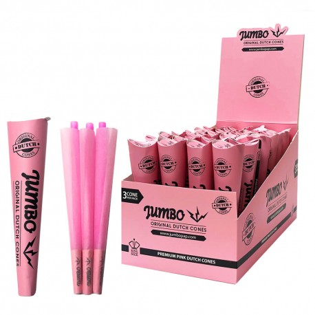 PINK CONES 3 PCS KING SIZE