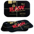 RAW BLACK MAGNETIC COVER ROLLING TRAY