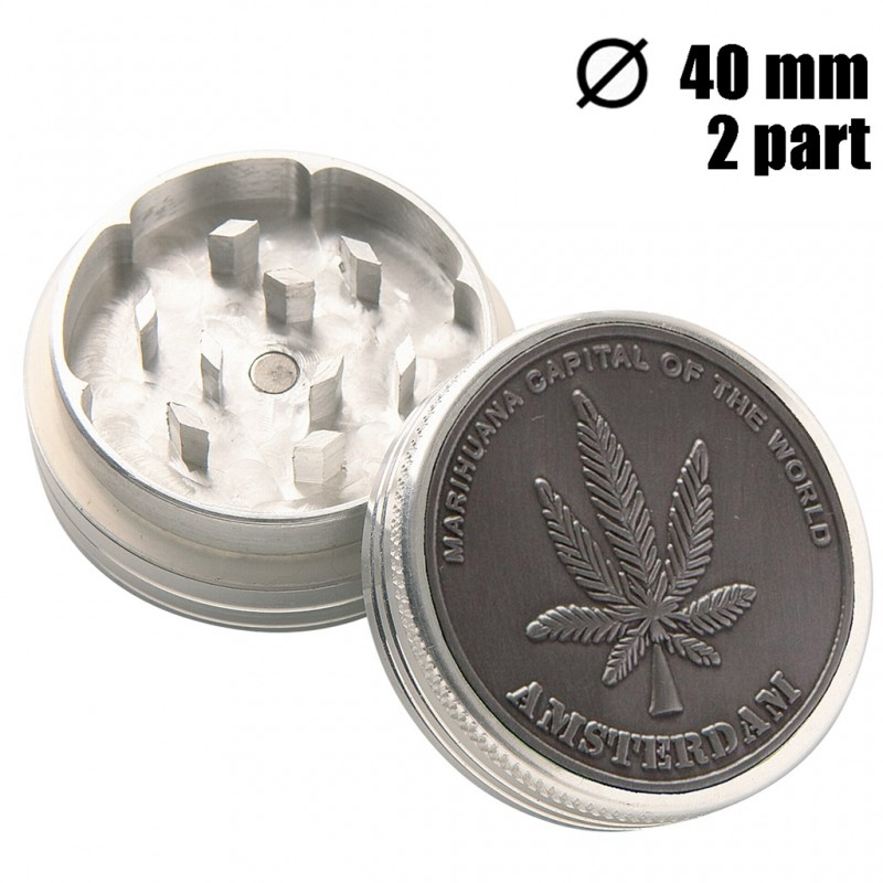 GRINDER CAPITAL METAL 40MM