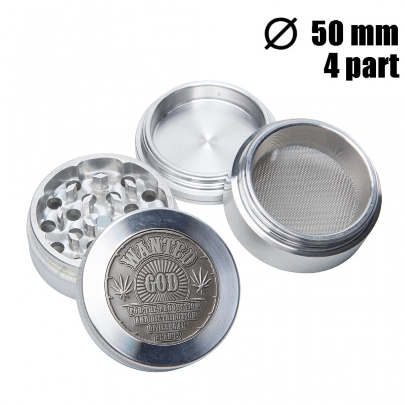 GRINDER WANTED GOD 4 PARTS 50MM